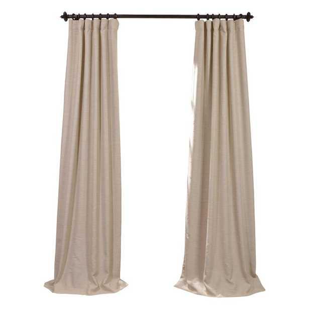 "Freemansburg Room Darkening Rod Pocket Single Curtain Panel - Oat Cream 50: W x 84"" L - Wayfair"