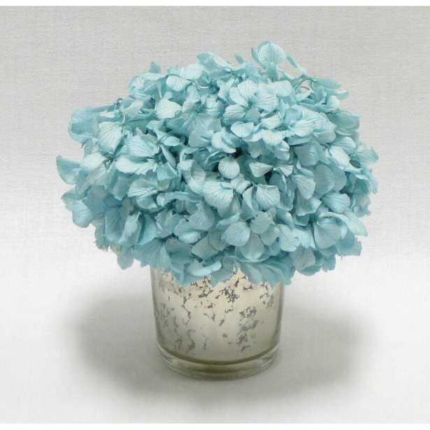 Mini Preserved Hydrangea in Vase - Wayfair