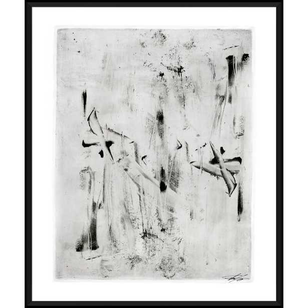 A Study in Black and White - Picture Frame Painting Print on Paper - Perigold