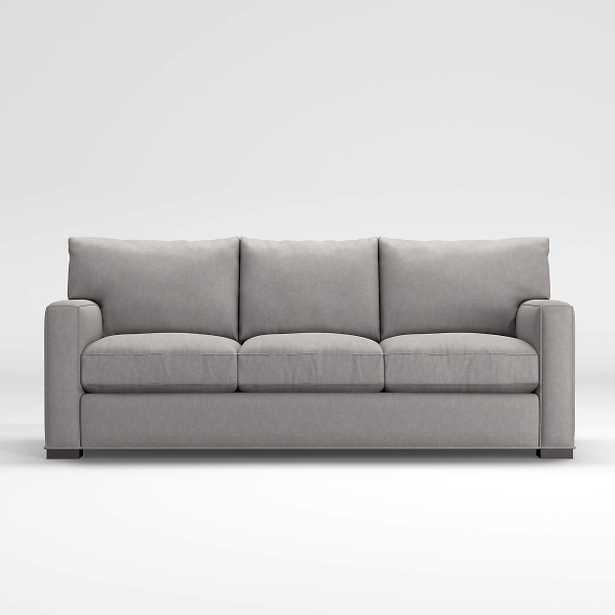 Axis II 3-Seat Sofa-LEG: Fossil - Crate and Barrel