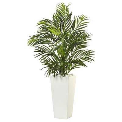 Artificial Areca Floor Palm Plant in Planter - Wayfair