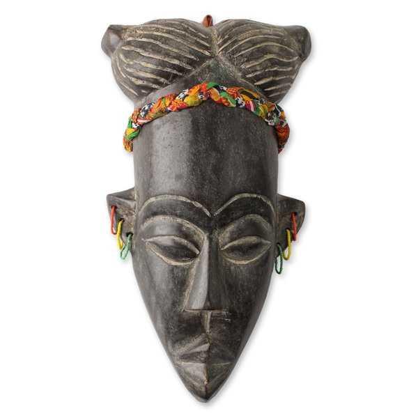 Winfred Korley Handmade African Mask Wall Decor - Wayfair