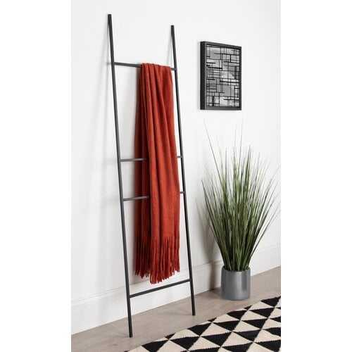 Metal Leaner 5.5 ft BlanketLadder - Wayfair