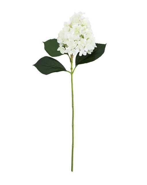 FAUX IVORY HYDRANGEA FLOWER STEM - McGee & Co.