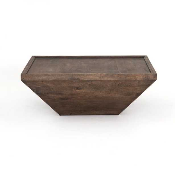 Four Hands Drake Solid Wood Solid Coffee Table - Perigold