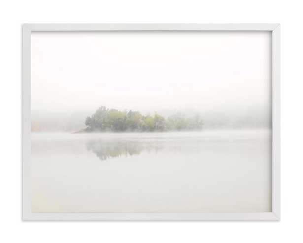 """The Island- Framed-24""""x18"""" - Minted"""