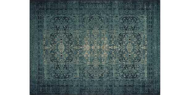 "JOURNEY Rug INDIGO / BLUE 7'-6"" x 10'-5"" - Loma Threads"