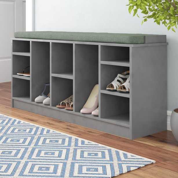 10 Pair Shoe Storage Bench - Wayfair