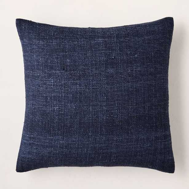 """Silk Handloomed Pillow Cover, Nightshade, 20""""x20"""", Set of 2 - West Elm"""