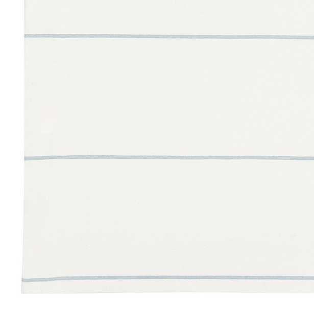 "Bowen Striped Panel - 96""L - Light Blue - Ballard Designs"
