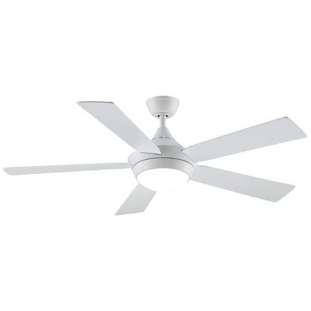 """52"""" Celano v2 5 Blade LED Ceiling Fan, Light Kit Included - Wayfair"""