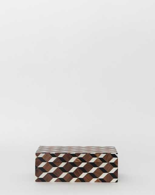 ARMO PATTERNED BOX - MEDIUM - McGee & Co.