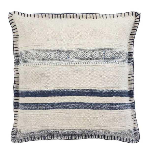 Vanston Cotton Striped Throw Pillow - Wayfair