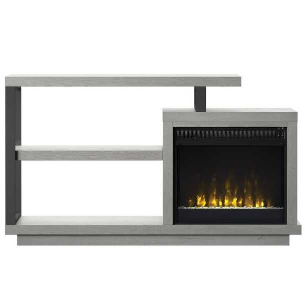 """Garrow TV Stand for TVs up to 50"""" with Electric Fireplace - Wayfair"""