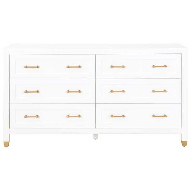 Skelmersdale 6 Drawer Double Dresser - Wayfair