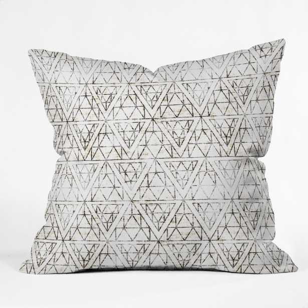 RUSTIC DIAMOND  BY HOLLI ZOLLINGER Pillow - Wander Print Co.