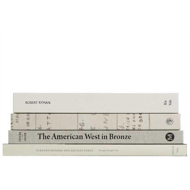 4 PIECE BEACH COLORSTAK AUTHENTIC DECORATIVE BOOK SET - Perigold
