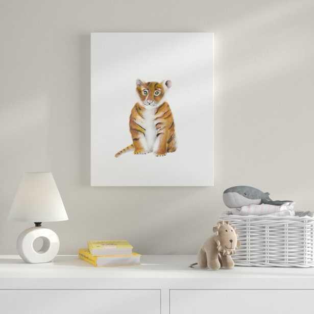 'Tiger Animal' Art - Wayfair
