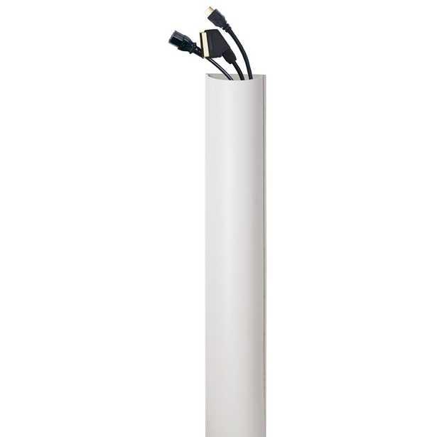 AVF Inc Premium Cable Management in White - Wayfair