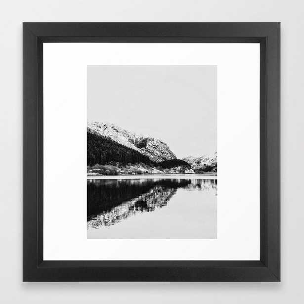 Lake and Mountains Framed Art Print - Society6