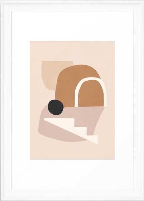 "Abstract Minimal 24, 26x38"" - Conservation Natural - Society6"