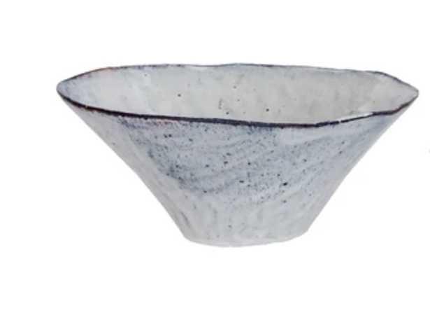 Blue Toned Ceramic Bowl - Large - McGee & Co.