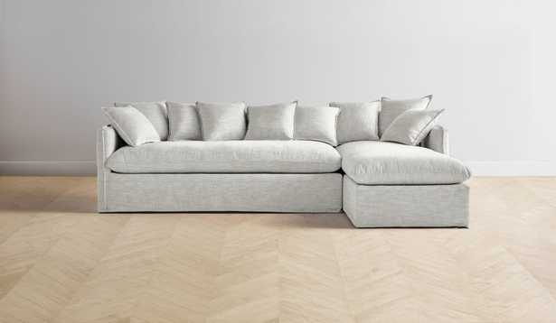 """The Dune Sectionl 90""""Wide Right Chaise - Maiden Home"""