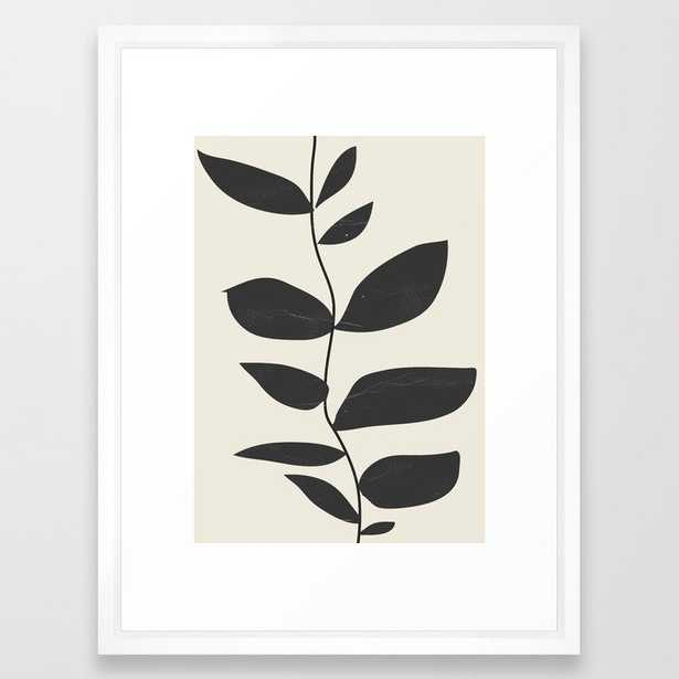 minimal plant Framed Art Print - Society6