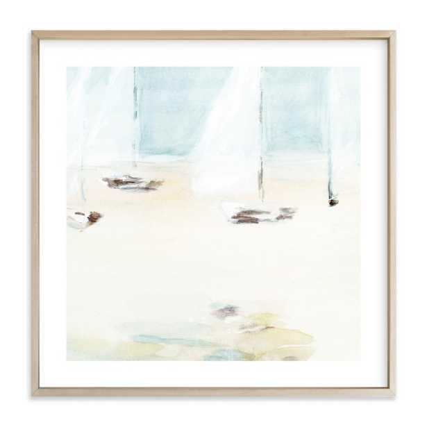 """Ahoy, 30"""" Framed Art - Minted"""