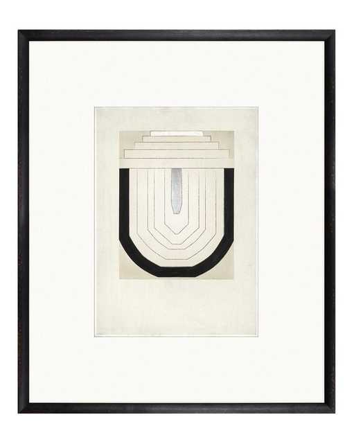 ARCHITECTURAL STEPS Framed Art - McGee & Co.
