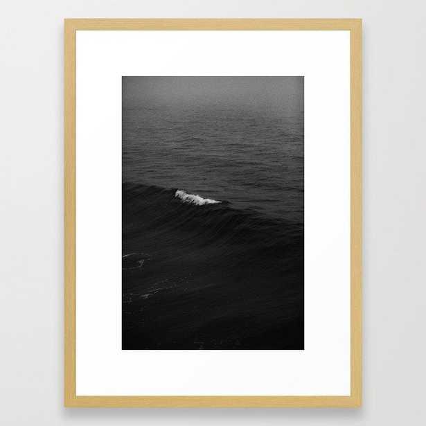OCEAN WAVES V Framed Art Print - Society6