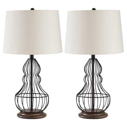 "Kaj 26"" Table Lamp, set of 2 - Wayfair"