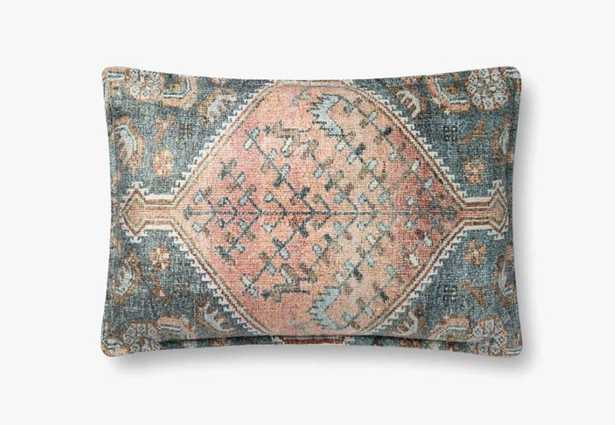"""P0821 MULTI 16x26"""" PILLOW COVER ONLY - Loma Threads"""