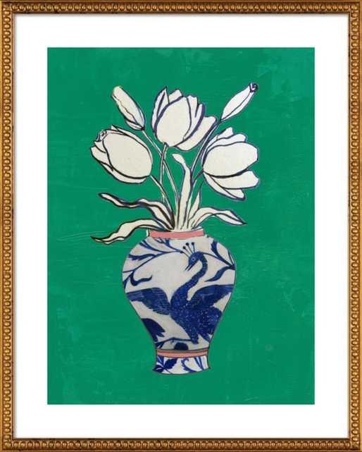 Flowers in Vase  BY RUTI SHAASHUA - Artfully Walls