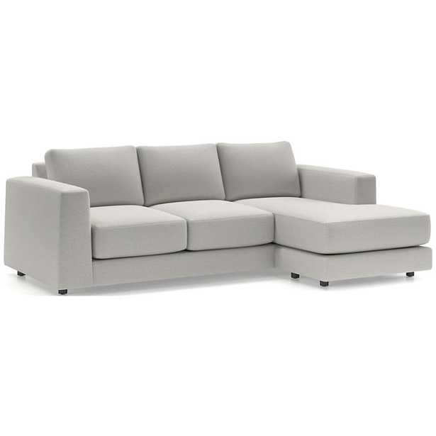 Peyton 3-Seat Reversible Sectional - Crate and Barrel