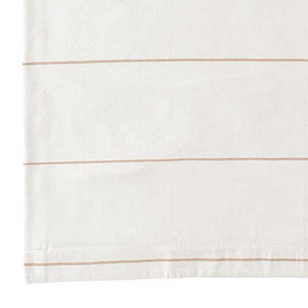 """Bowen Striped Panel - 108""""L - Natural - Ballard Designs"""
