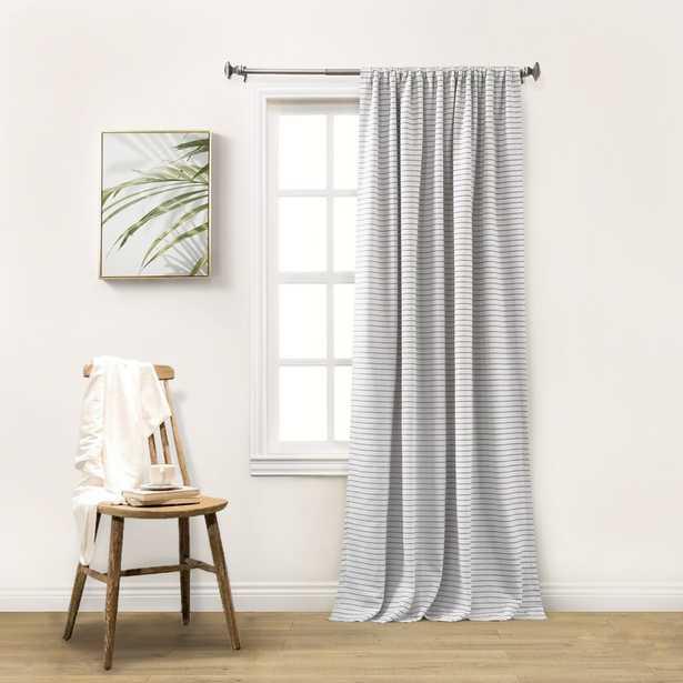 Gadd Striped Blackout Thermal Rod Pocket Single Curtain Panel - Wayfair