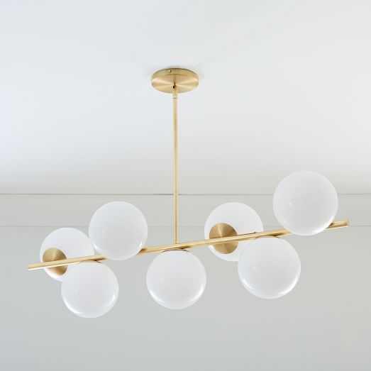 Sphere + Stem 7-Light Chandelier - West Elm