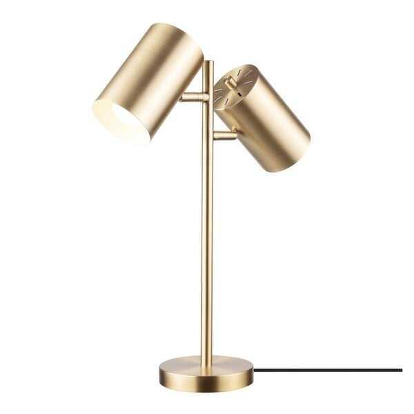 Pratt 20'' Gold Desk Lamp - Wayfair