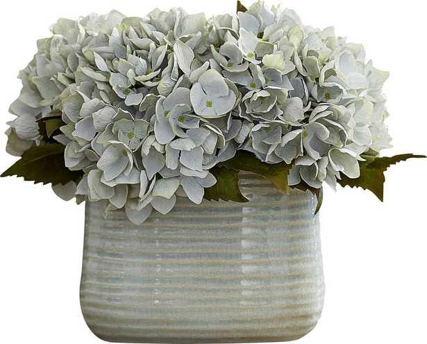 Hydrangea Centerpiece in Decorative Vase - Birch Lane