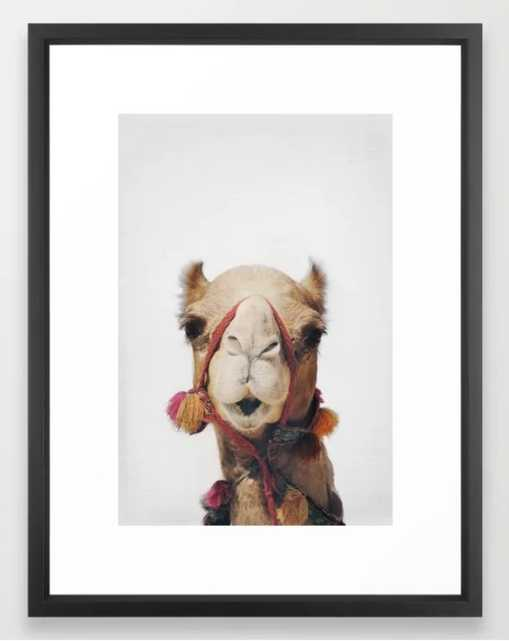 "Camel Framed Art Print - 20""x26"" - Society6"