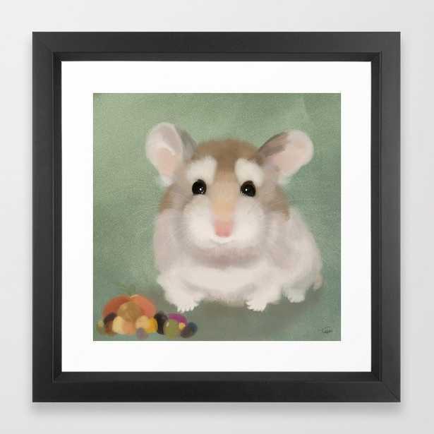 Harvest Hamster Framed Art Print - Society6