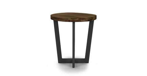 Toba Vintage Brown Side Table - Article