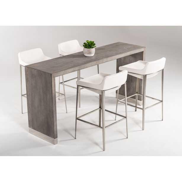 Gray Elm Belafonte Dining Table, Gray Elm - Wayfair