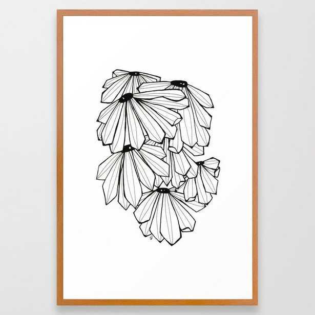 Coneflower Framed Art Print - Society6