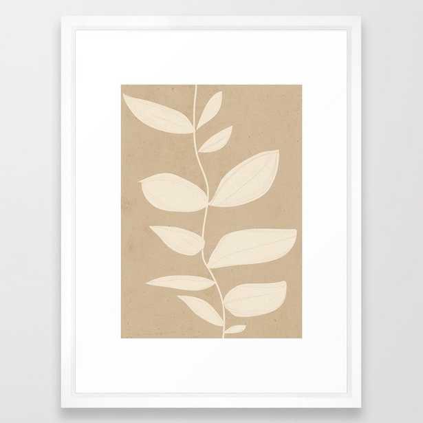minimal plant 12 Framed Art Print - Society6