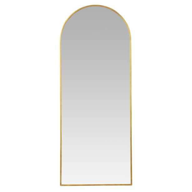 Tysen Modern Arch Floor Mirror - Wayfair