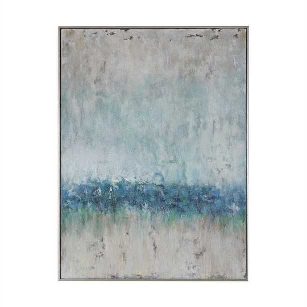 Tidal Wave Hand Painted Canvas - Hudsonhill Foundry