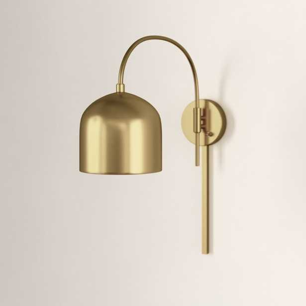Amora 1 - Light Dimmable Plug-In Armed Sconce - Wayfair