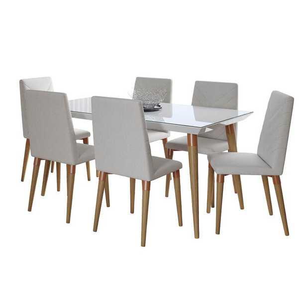 Arianna 7 - Piece Dining Set - AllModern